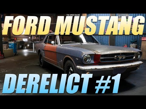 Need For Speed Payback - Derelict Part Locations - 1965 Ford Mustang