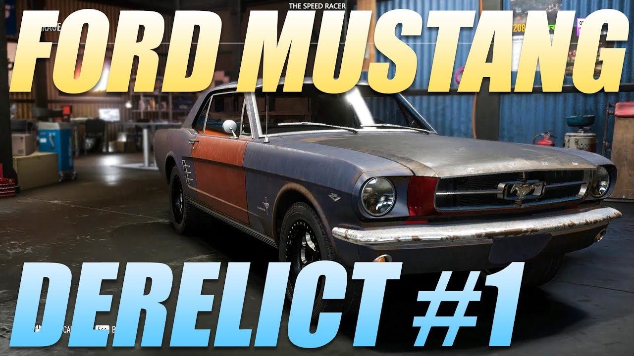 Need for speed payback derelict part locations 1965 ford mustang