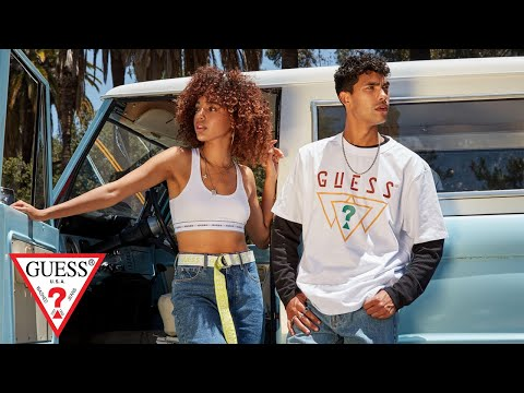 #GUESSOriginals Fall '19 Campaign<br><br>Anything ...