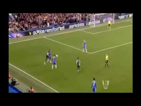 WONDER Goal Chelsea 0-2 Newcastle United Papiss Cisse