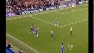 WONDER Goal Chelsea 0-2 Newcastle United Papiss Cisse