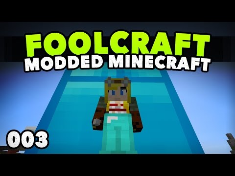 FoolCraft 003 | BEST MODDED STORAGE! | A Minecraft Modded Le