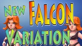 *New* Falcon Variation Attack!! | TH10 Valk/Falcon Attack Strategy | Clash of Clans | TH10 3 Star