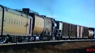 UP 844 Pushes a Stalled 11,620 Ton Freight Train!!!