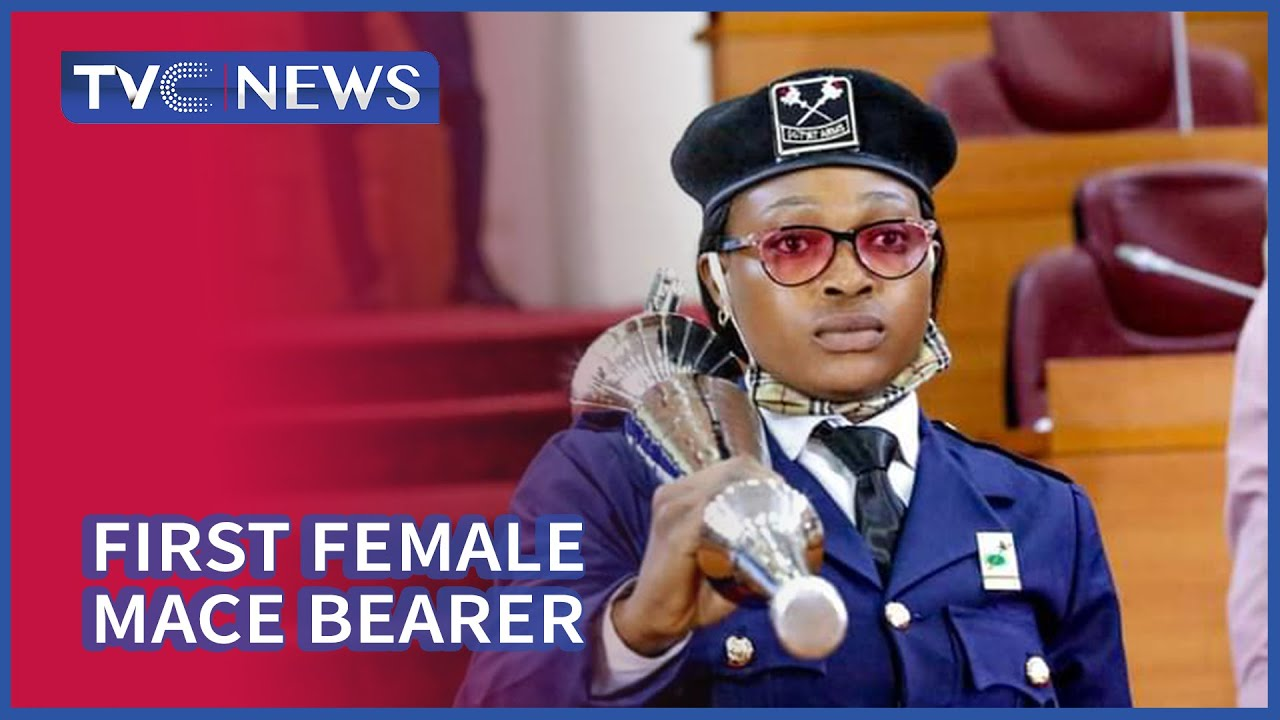 Download Olorogun Emerges As Lagos Assembly First Female Mace Bearer