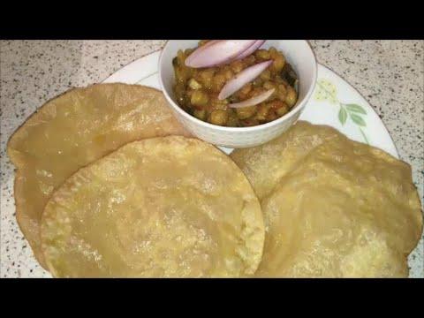 Poori / How to make Soft and Puffed Poori Recipe / Poori Recipe