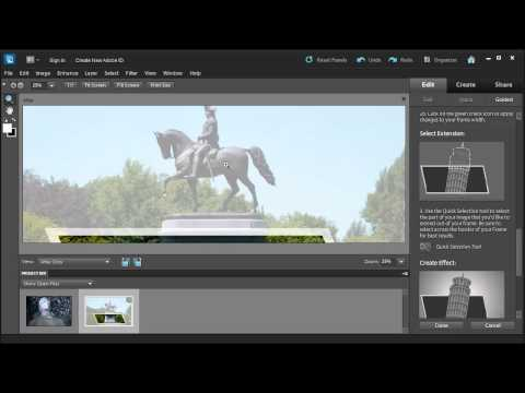 Create An Out-of-Bounds Photo With Adobe Photoshop Elements 10