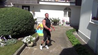 Klokov Dmitry - Home & Family gym (2.08.2013)