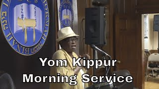Yom Kippur Morning Services 09-19-18