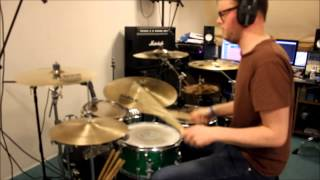 Simple Minds - Glittering Prize (Drum Cover)