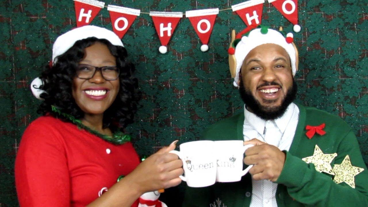 BF vs. GF Ugly Christmas Sweater Challenge!! | 12 Days of VLogmas ...