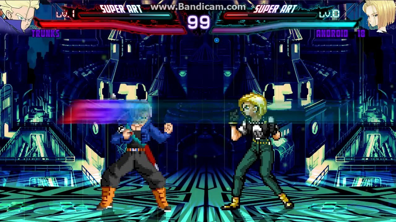 Mugen Legacy: Trunks vs Android 18 by KoopaFam29