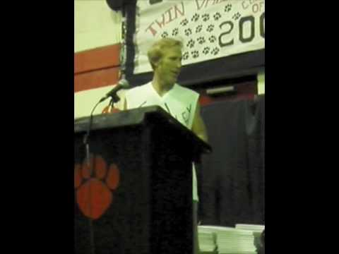 Rusty DeWees - The Logger Speaks at TVHS Graduation