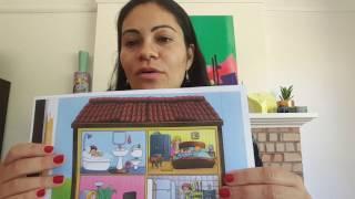 Part of the house in Spanish - Las partes de la casa en Español