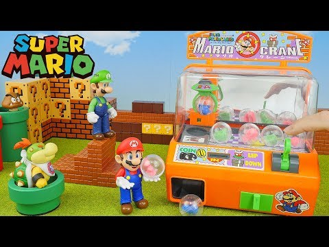 Download Youtube: Super Mario Claw Machine (Crane Game Toys and Playset) Stop Motion
