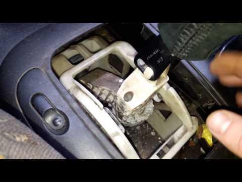 Регулировка кулисы МКПП Opel Vectra B