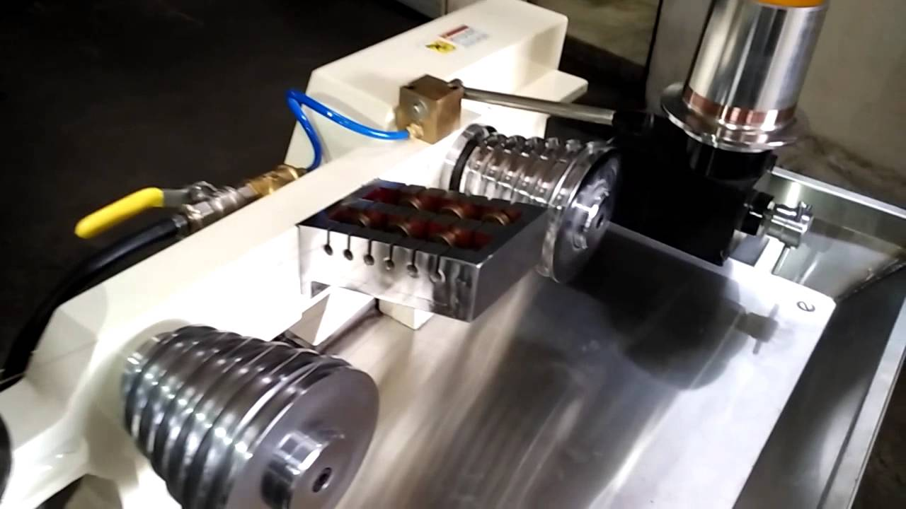 Gold & Silver Jewellery Wire Drawing Machine - YouTube