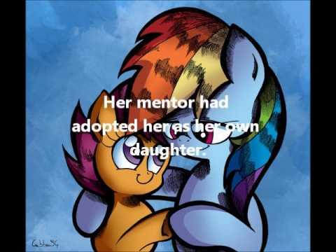Rainbow Dash's adoptive daughter