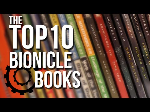 The Top 10 BIONICLE Books