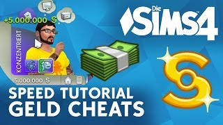 Die Sims 4 Speed Tutorial: Geld Cheats