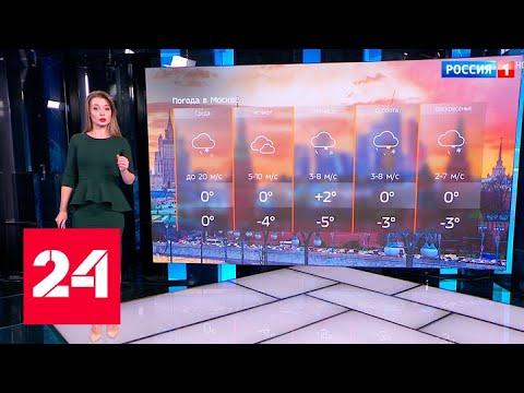 Мокрый снег, гололедица и сильный ветер: погода в столице испортится - Россия 24