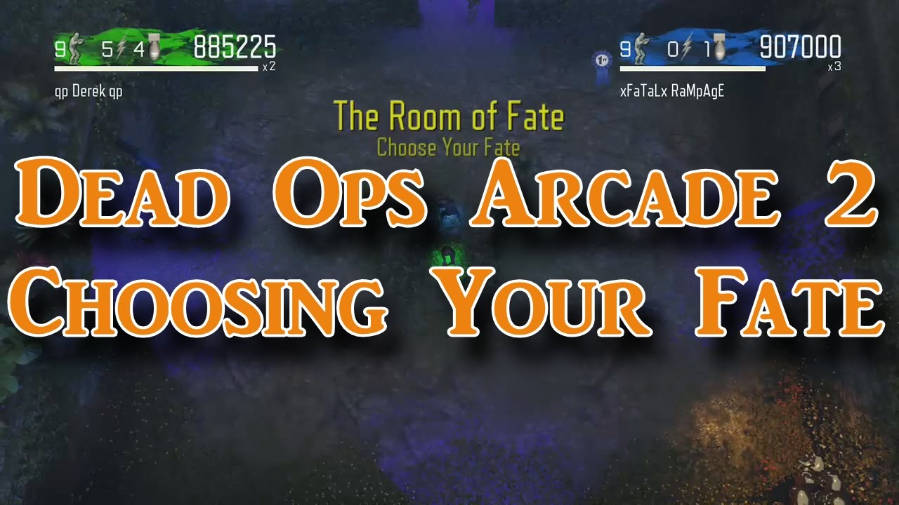 Dead Ops Arcade  Room Of Fate