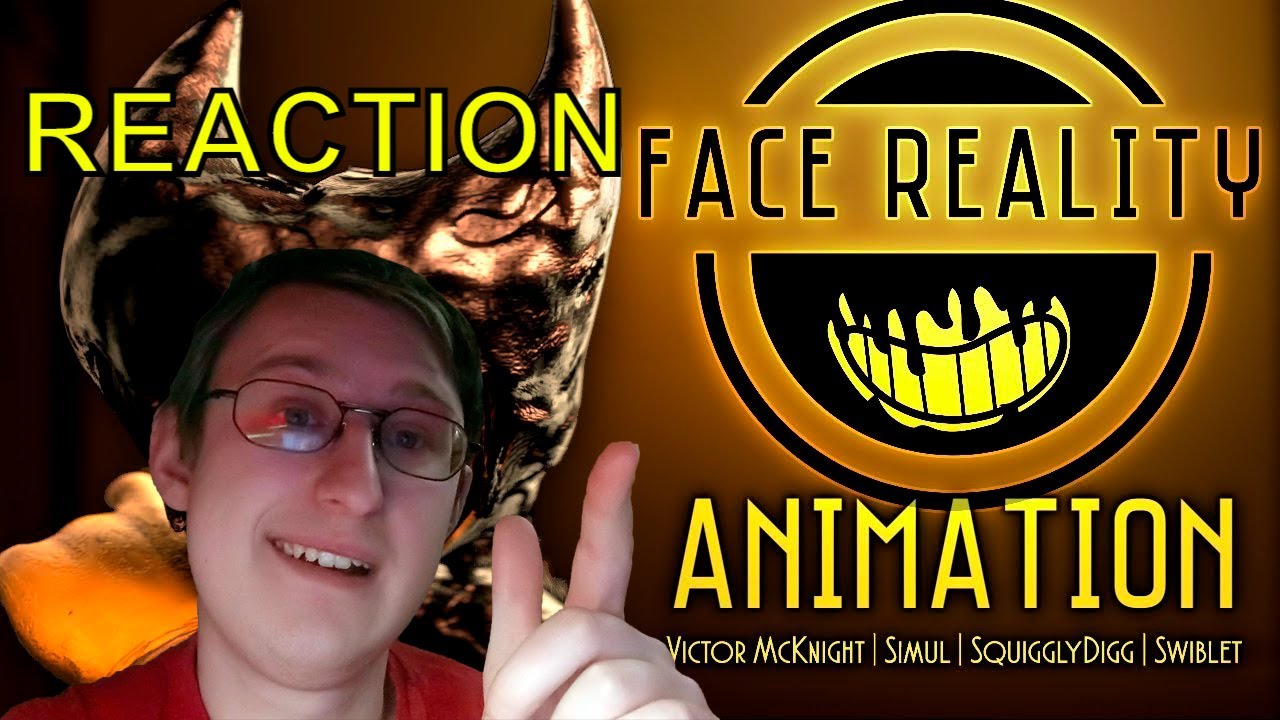 """【BENDY SFM】 """"FACE REALITY"""" - Victor McKnight, Simul, SquigglyDigg & Swiblet 