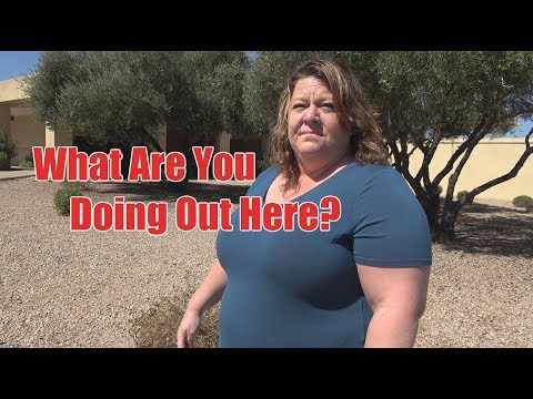 Sun City AZ USPS 1st Amendment Audit [What Are You Doing Out Here?]