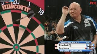 🎯 Adrian Lewis v Terry Jenkins | Round 2 | International Darts Open 2018 | Riesa