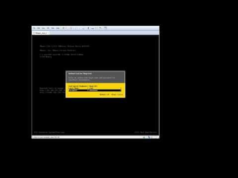 Instalación y configuración de VMware ESXI 6.0