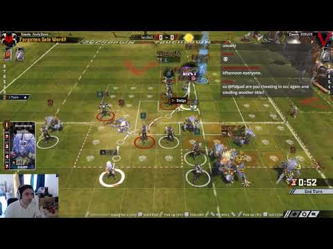 Blood Bowl 2: MD4 Dark Elf; how to elf Vs Lizards