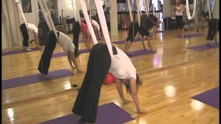 CTV News visits the Interlude Spa to learn about Anti Gravity Yoga