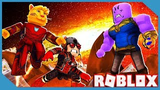 Roblox 4 Player Superhero Tycoon with My Little Nephew