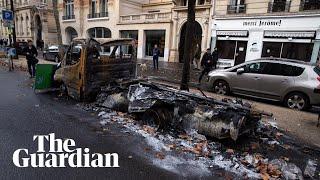Paris cleanup begins after gilets jaunes riots