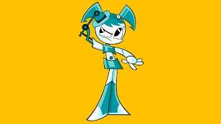How To Draw Paint XJ9 My Life as a Teenage Robot Nickelodeon Как нарисовать Робота Дженни Никелодеон