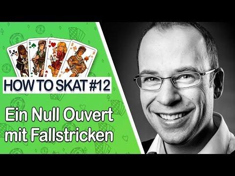 How To Skat #12: Ein Null Ouvert Mit Fallstricken (mit Untertiteln / With English Subtitles)