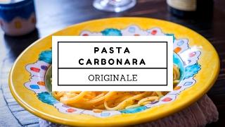 Spaghetti Alla Carbonara - Video Ricetta Originale Romana