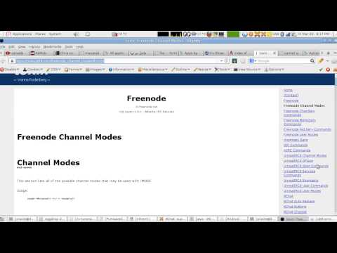 IRC Tutorial Lesson 12: How To Construct and Manage A New Channel (Arabic Version)