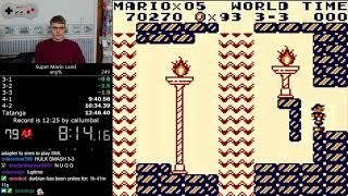(12:43) Super Mario Land any% speedrun