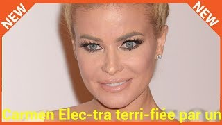 Carmen Electra terrifiée par un homme persuadé qu'il est son fiancé