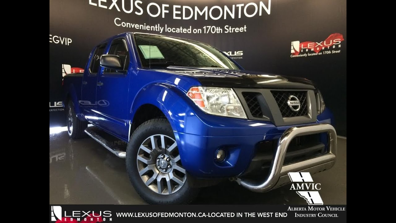 Nissan Frontier Crew Cab >> Used 2012 Blue Nissan Frontier 4WD Crew Cab LWB Auto SL In ...