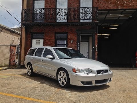 2005 Volvo V70 R For Sale at Metairie Speed Shop (exterior) - YouTube