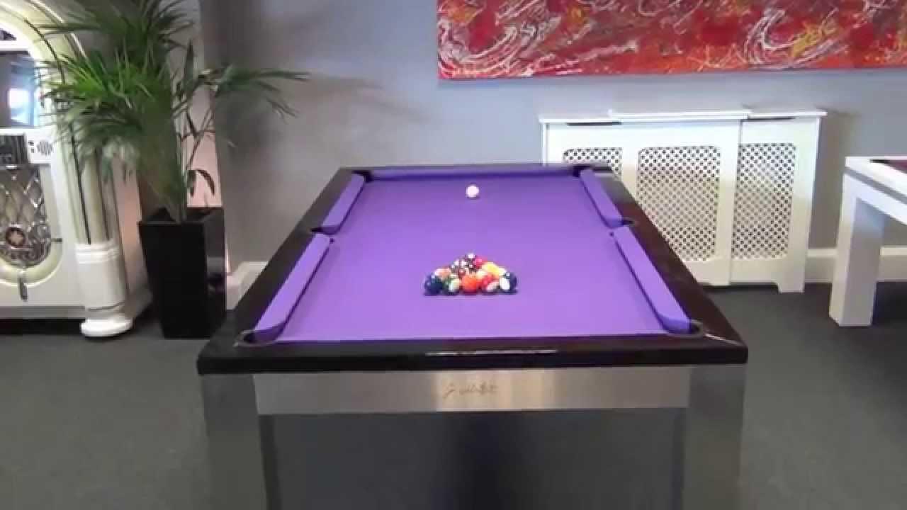 Montfort Lewis Stainless Steel Pool Table YouTube