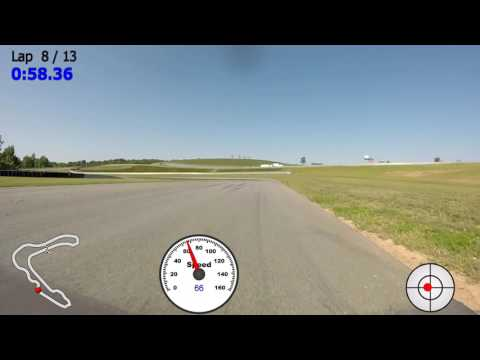Pittsburgh International Race Complex (PittRace) - Miata fast lap