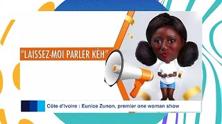 Mmb Les News C.i Eunice Zunon Premier One Woman Show