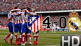 Atletico Madrid vs Real Madrid 4-0 All Goals and Highlights | 07-02-2015 HD(Atletico madrid vs Real madrid 4-0 All Goals and Highlights 7-2-2015 HD I am happy that Atletico Madrid trashed Real. Although Im not really a fan of Atletico, ..., 2015-02-07T18:33:54.000Z)