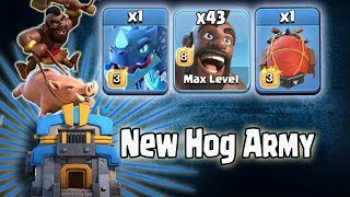 New TH12 Hog Electro Battle Blimp Attack Strategy 2018! New Hogs Electro Clone Army 3star Th12