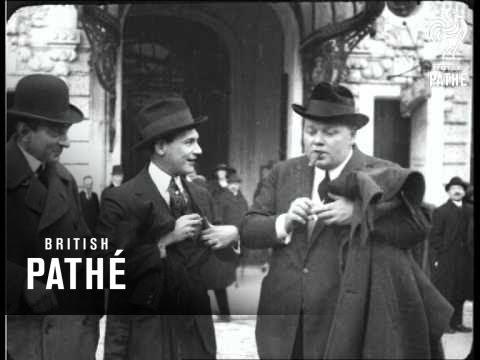 Roscoe  Fatty  Arbuckle In London 1920