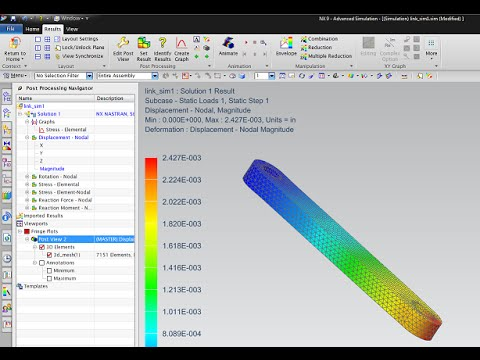 ANSYS Bending Test | Highly Non Linear Analysis | GRS |из YouTube · Длительность: 35 мин13 с