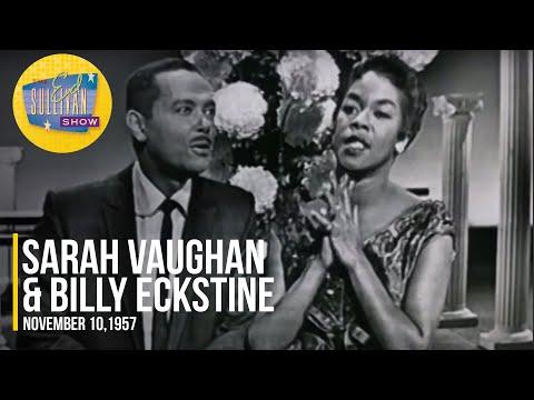 "Sarah Vaughan & Billy Eckstine ""Passing Strangers"" on The Ed Sullivan Show"
